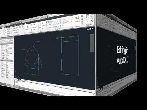 Traditional Editing in AutoCAD LT vs. Parametric Editing in AutoCAD 2011