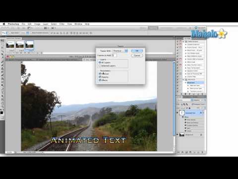 Learn Adobe Photoshop - The Animation Panel