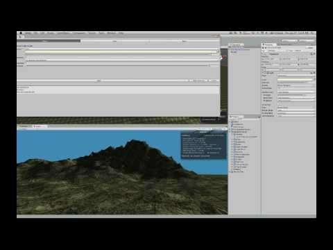 Unity 3 Preview 2 Part 1 - Looking At Creating Terrains