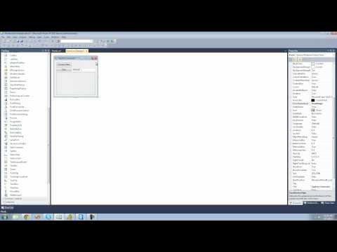 C# Beginners Tutorial - 179 - Project 5 Captcha Generator, Setting Up