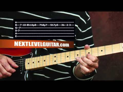 Quick licks Pretenders inspired 80s rock solo & rhythm song Back on the Chain Gang style lesson
