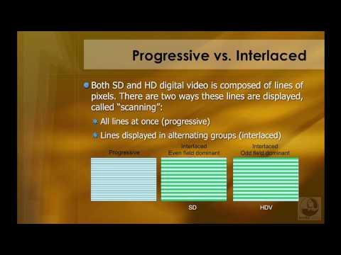 Final Cut Studio: Progressive vs. interlaced | lynda.com