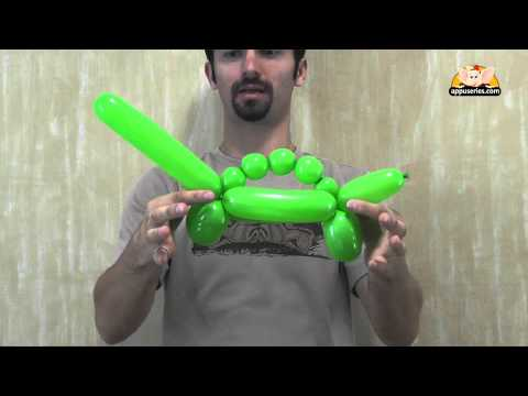 Balloon Sculpting - Learn to sculpt a Dinousaur