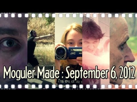 Creepy Short Films, Vidblog Camera Setup Suggestions, and More! : Moguler Made: September 6, 2012