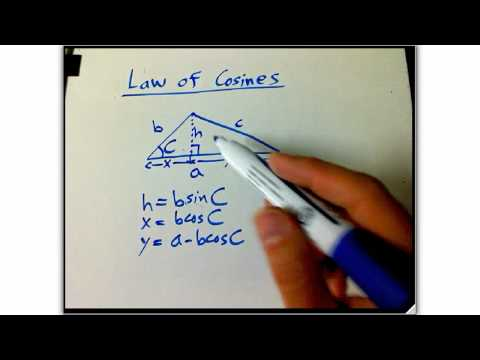 Law of cosines recap part 1