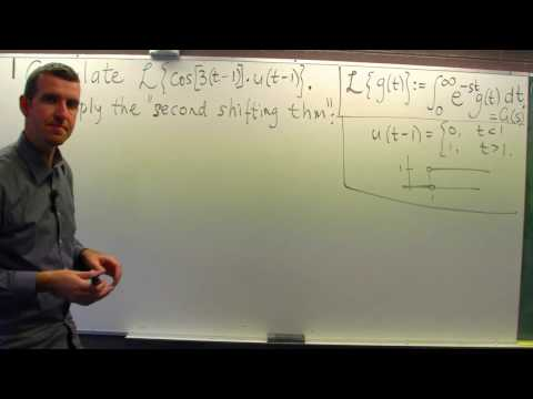 Laplace Transform: Second Shifting Theorem