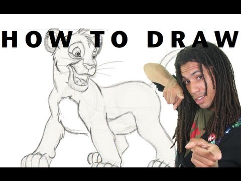 How to Draw!: Simba From the Lion King