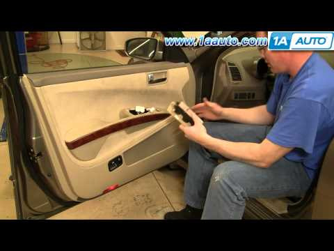How to Install Replace Power Window Switch Nissan Maxima 04-08 1AAuto.com