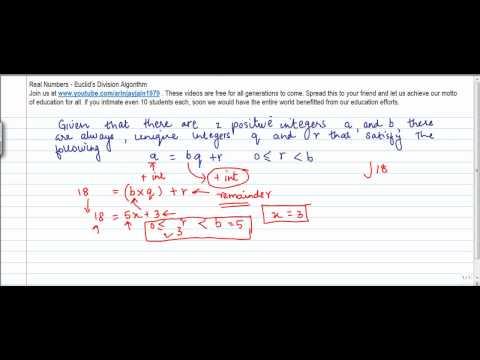 435.Mathematics - Euclid's Division Lemma