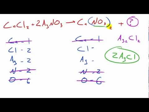 Chemistry Lesson - 36 - Question on Double Displacement Reactions