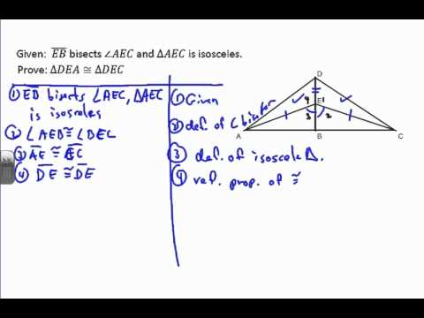Triangle Proof Example 7