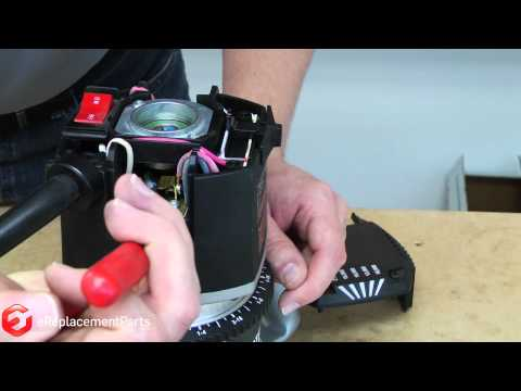 How to Replace the Brushes on a Porter Cable 7518 or 7519 Router--A Quick Fix