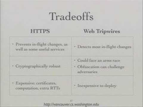 Building a Safer Web: Web Tripwires and a New Browser Architecture