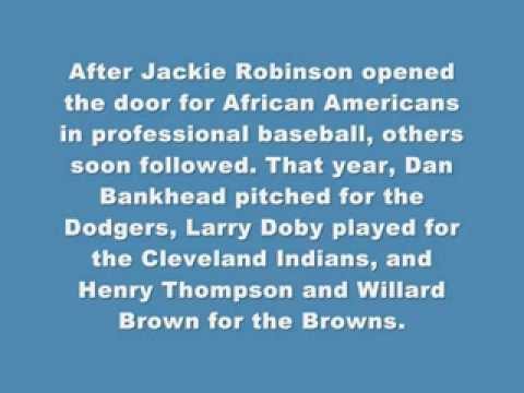 Crossing the Color Line  Jackie Robinson