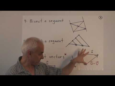 WildLinAlg2b: Geometry with vectors (cont.)