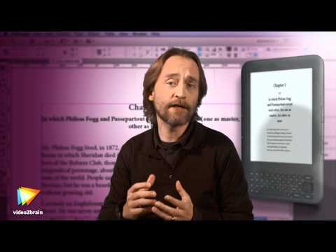Getting Started Making eBooks with InDesign Trailer