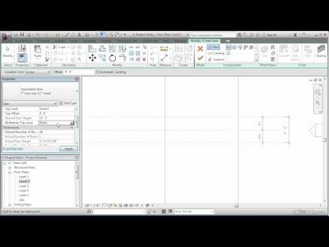 Creating Stairs and Modifying Stair Boundaries