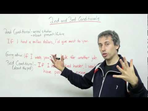 Conditionals -- second & third conditionals (English Grammar)