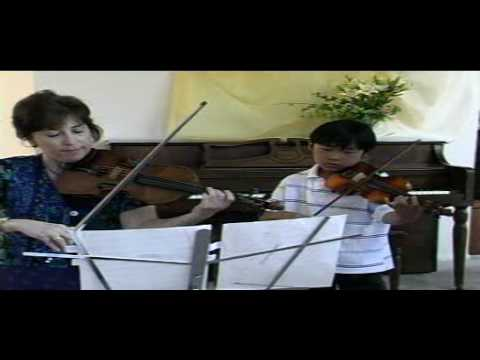 Violin Lesson - Handel Demo - Duet