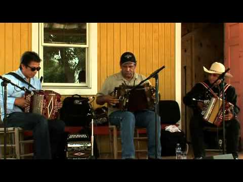 Three Accordionists (Joel Guzman, Ed Poullard, and David Farias), Cajun and Conjunto