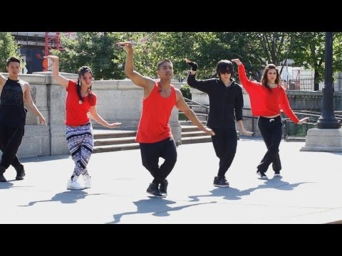How to Dance Like Nsync: It's Gonna Be Me, Part 5 | Hip Hop Dance Crew