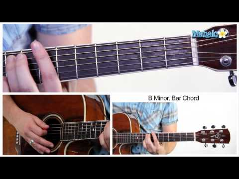 How to Play a B Minor (Bm) Bar Chord on Guitar (7th Fret)