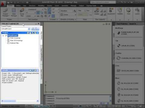 Introduction to AutoCAD Plant 3D (Part 2)