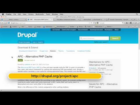 How to work with Drupal's caching options | lynda.com tutorial