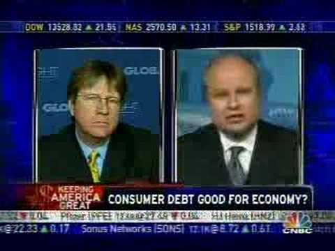 Is Consumer Debt Good? CNBC
