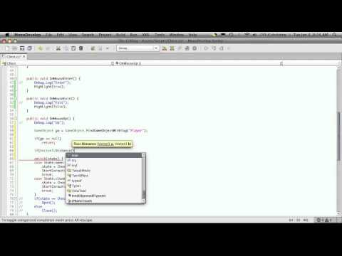 114. Unity3d Tutorial - Interacting With Game Objects Part 4