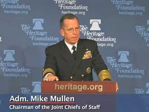 Adm. Mike Mullen on Winning the Long War