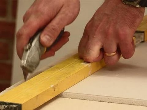 A guide to cutting drywall