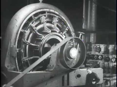 Testing a Rotary, Westinghouse Works