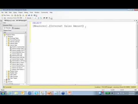 Free SQL training - introduction to MDX