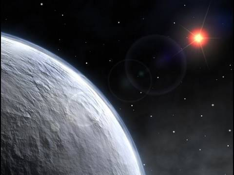 Portrait of Gliese 581