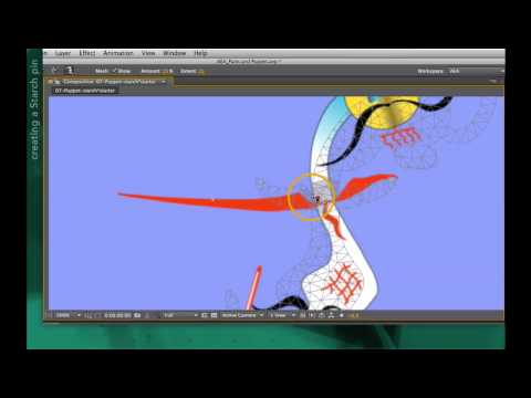After Effects tutorial: The Puppet Starch tool   lynda.com