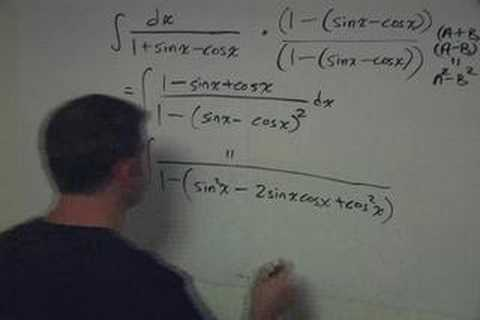 Integral involving some sin and cos and shrewd manipulation