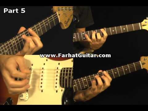 Revolution - The Beatles Guitar Cover Part 5  www.FarhatGuitar.com