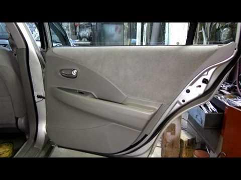 Inside Rear Door Panel Removal