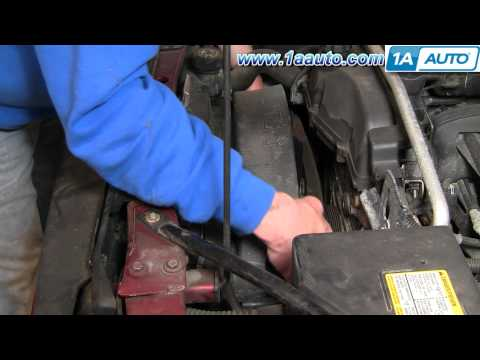 How To Install Replace Serpentine Belt Tensioner Trailblazer 4.2L 02-05 1AAuto.com