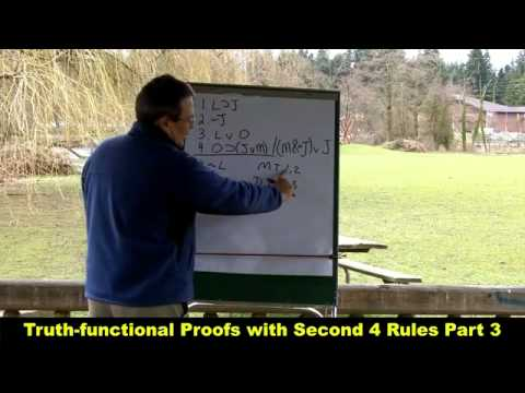 Truth-functional Proofs with Second 4 Rules Part 3_HD.mp4 - YouTube.mp4