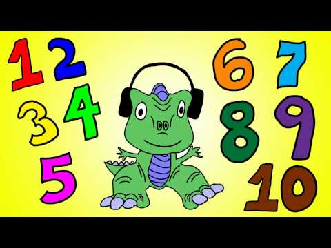 Dinosaur Numbers 1 to 10 - Learn Numbers 1 to 10 with the Dinosaur Song