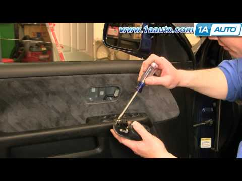 How To Install Replace Inside Door Handle Honda CR-V 02-04 1AAuto.com