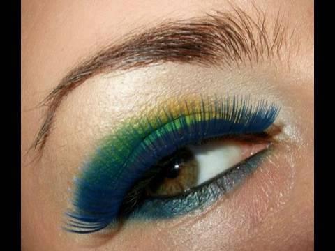 Brazil FIFA World Cup Inspired make up look