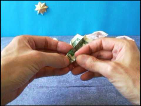 Dollar Bill Origami Plane