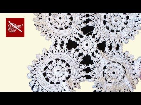 Crochet Geek - Crochet Doily Tranquility