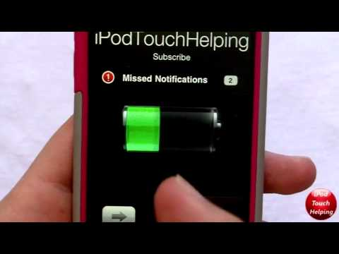 Get a Moving Battery on iPhone, iPod Touch & iPad 'AnimateBattery'