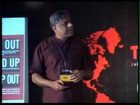 TEDxBMS - Rajeev Gowda - Connecting, confronting and transforming Cultures.
