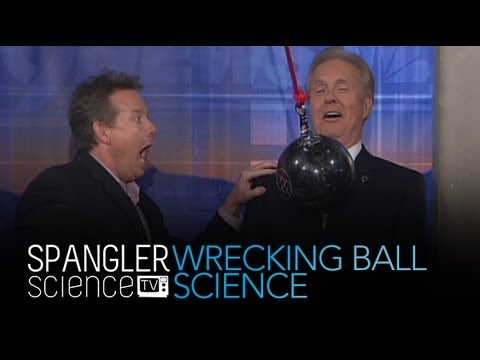 Wrecking Ball Science - Cool Science Experiment
