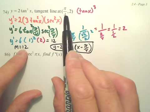 2.4c1 The Chain Rule - Calculus